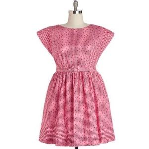 ModCloth Bea and Dot No Ifs Ants or But's Dress